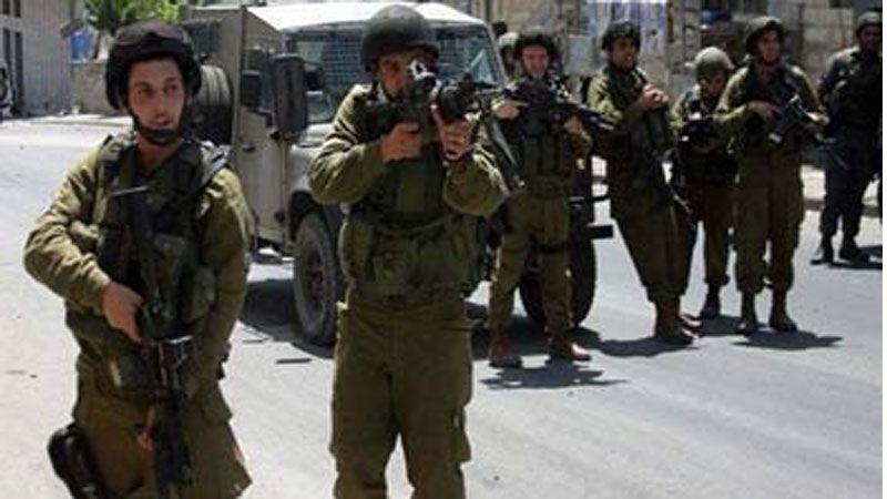 تدريب  في فلسطين المحتلة
