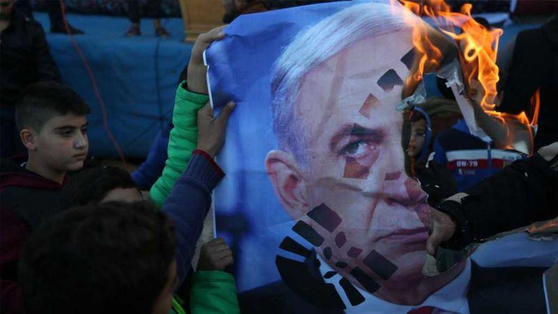 فلسطين تتظاهر رفضاً للاعتراف بالقدس عاصمة للكيان الصهيوني