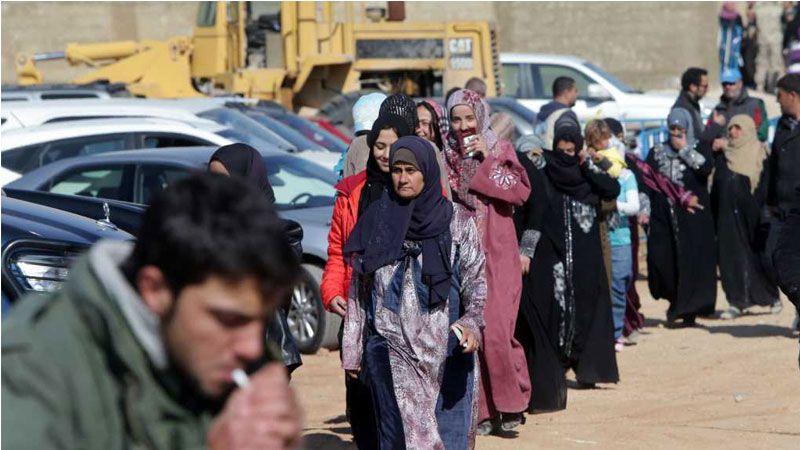 انخفاض عدد اللاجئين السوريين في لبنان