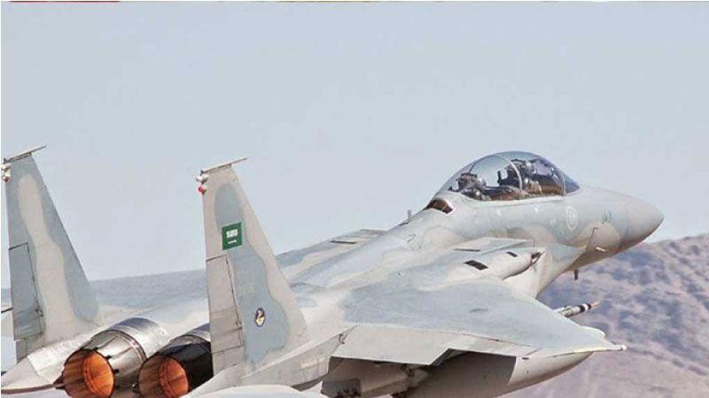 إصابة طائرة سعودية