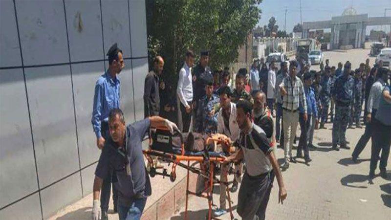 إنفجار مزدوج في ساحة الطيران وسط بغداد..16 شهيداً وعشرات الجرحى