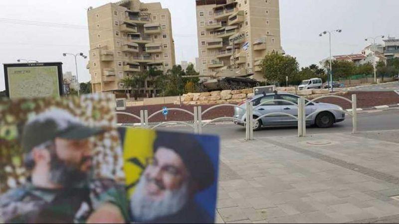 صورة للسيّد نصر الله والشهيد القائد عماد مغنية في 'تل أبيب'