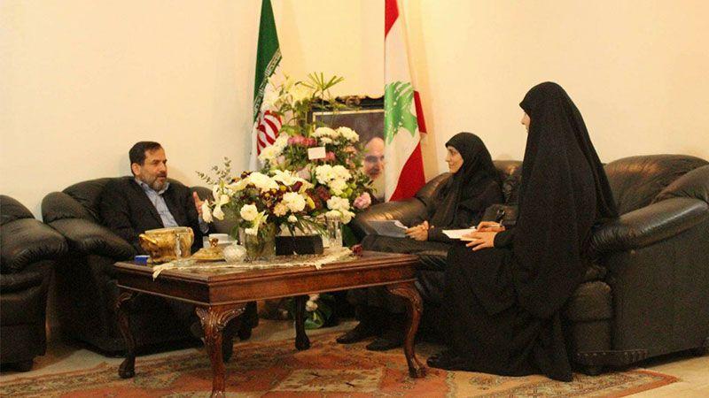 لقاء مع المستشار الثقافي   للجمهورية الاسلامية  في لبنان بذكرى إنتصار الثورة الاسلامية