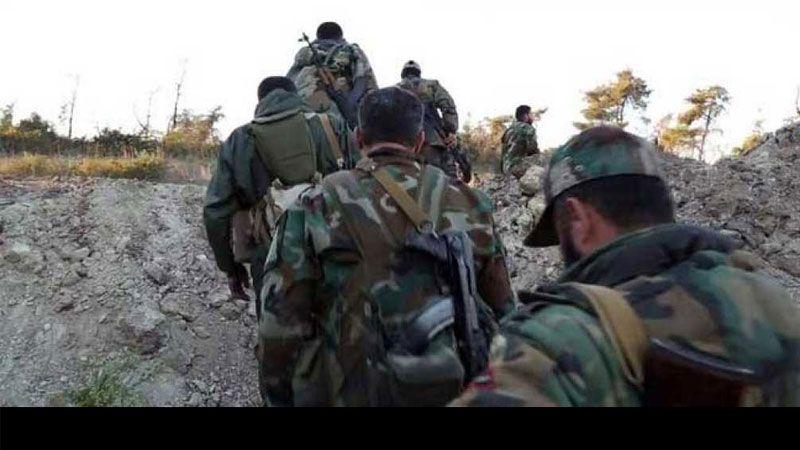 الجيش السوري يبدأ هجماته البرية نحو مواقع الإرهابيين في الغوطة الشرقية