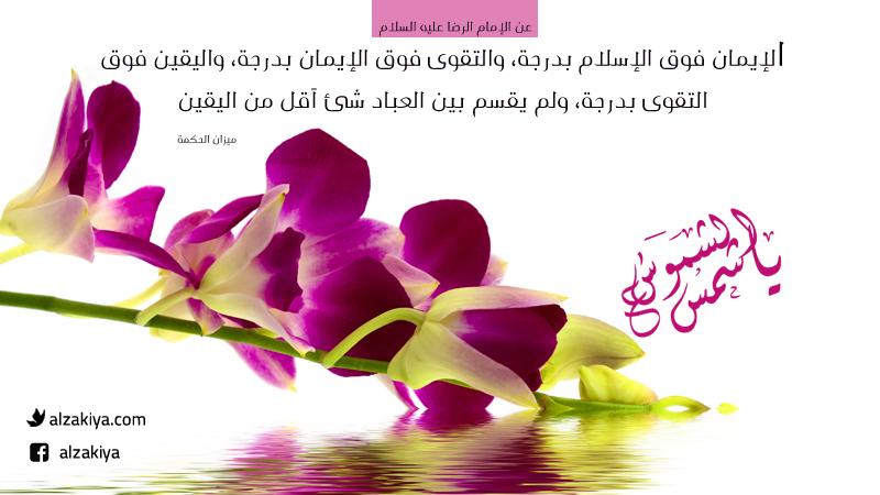 أخلاق الإمام الرضا عليه السلام
