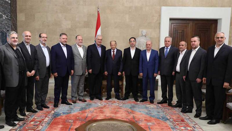 لقاء كتلة الوفاء مع الرئيس عون