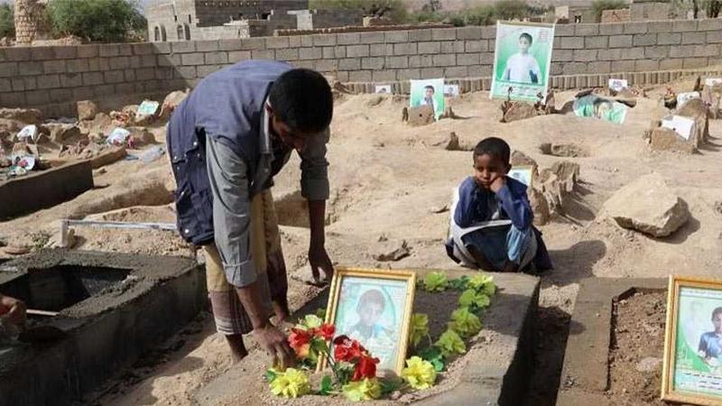 اليمن اليوم جحيم للأطفال