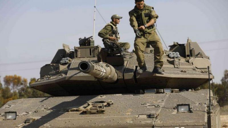 مناورة للعدو تحاكي حربًا ضد قطاع غزة
