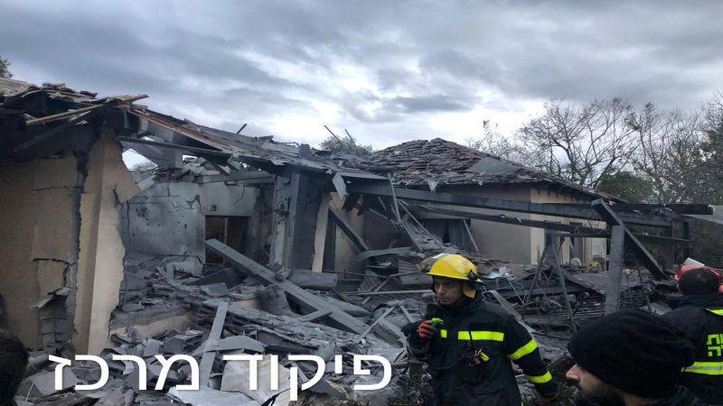 """غزة تقصف """"تل أبيب"""" للمرة الثانية"""