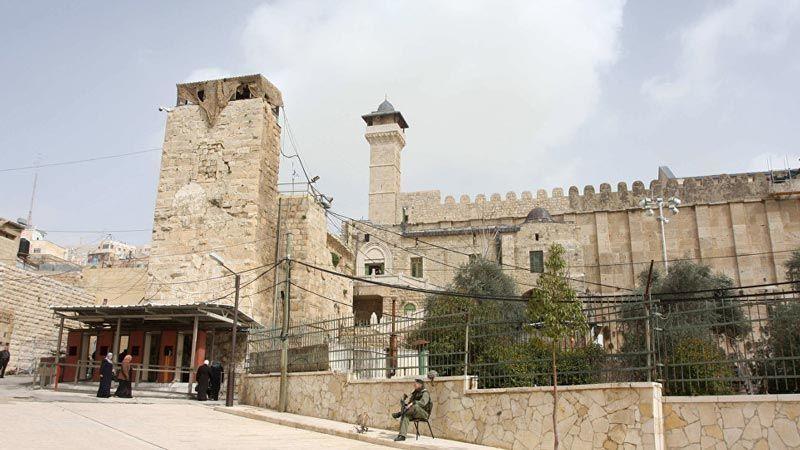 اغلاق الحرم الإبراهيمي