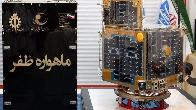 قمر صناعي يعكس صورة سليماني