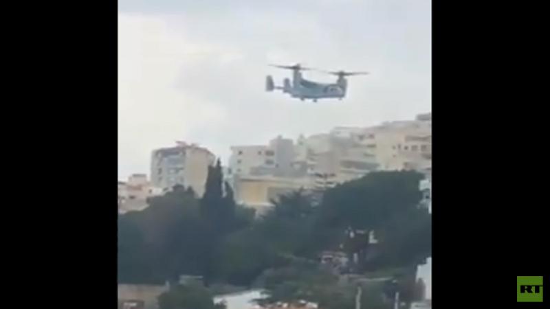 مروحية أمريكية تقوم بإخراج أحد أبرز عملاء إسرائيل من بيروت