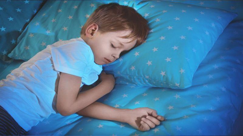 إعداد الطفل للنوم