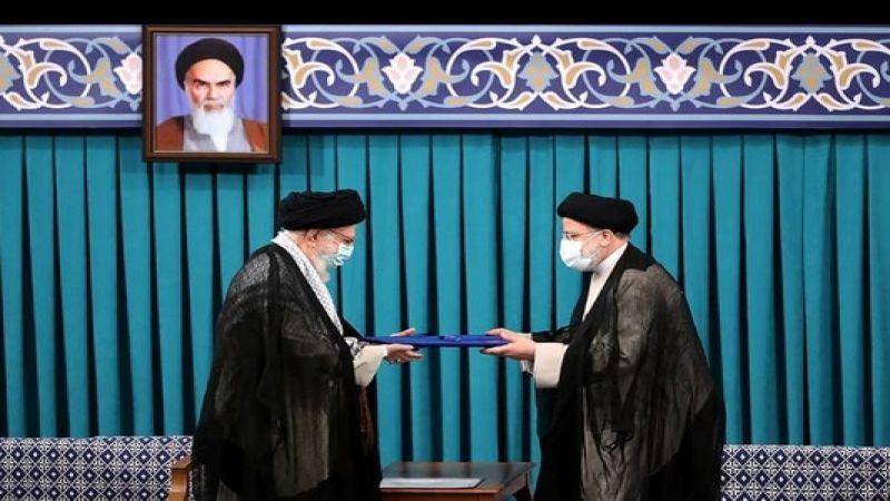 تسلم  السيد رئيسي  منصبه كرئيس للجمهورية الإسلامية